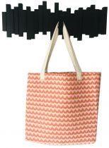 Sac de plage fouta losange orange