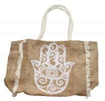 Sac naturel Khamsa blanc
